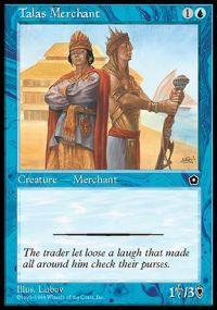 Talas Merchant Magic Card