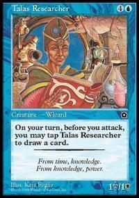Talas Researcher Magic Card