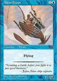 Talas Scout Magic Card
