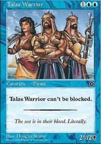 Talas Warrior Magic Card