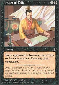 Imperial Edict Magic Card