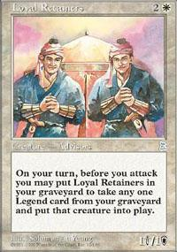 Loyal Retainers Magic Card
