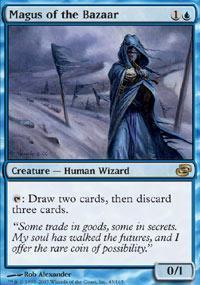Magus of the Bazaar Magic Card