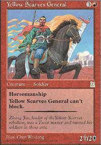Yellow Scarves General Magic Card