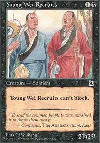 Young Wei Recruits Magic Card