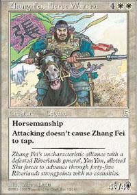 Zhang Fei, Fierce Warrior Magic Card