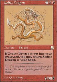 Zodiac Dragon Magic Card