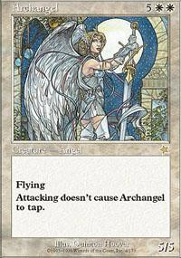 Archangel Magic Card