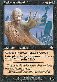 Dakmor Ghoul Magic Card