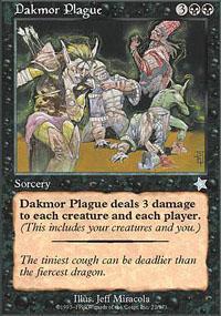 Dakmor Plague Magic Card