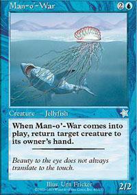 Man-o'-War Magic Card