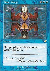 Time Warp Magic Card
