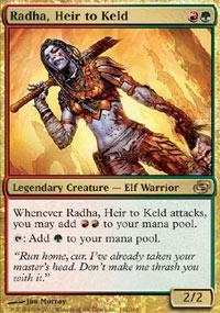 Radha, Heir to Keld Magic Card