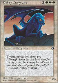 Abbey Gargoyles Magic Card