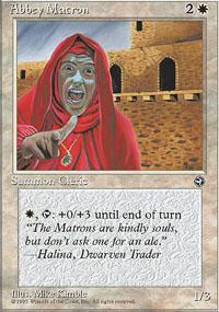 Abbey Matron Magic Card