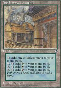An-Havva Township Magic Card