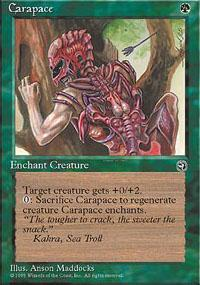 Carapace Magic Card