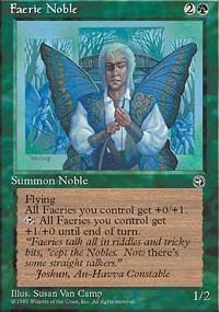 Faerie Noble Magic Card