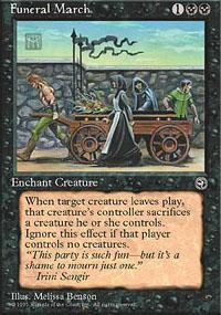 Funeral March Magic Card