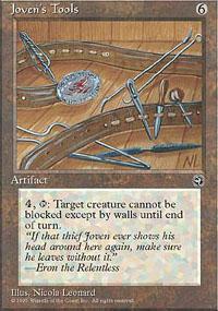 Joven's Tools Magic Card