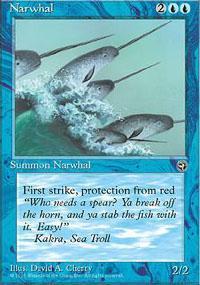 Narwhal Magic Card