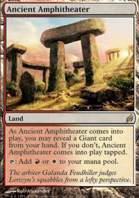 Ancient Amphitheater Magic Card
