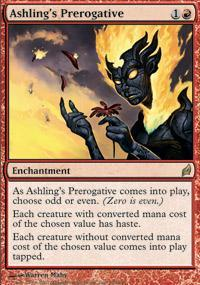 Ashling's Prerogative Magic Card