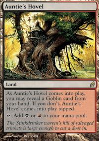 Auntie's Hovel Magic Card