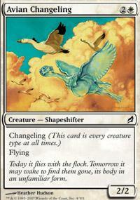 Avian Changeling Magic Card