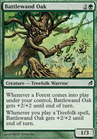 Battlewand Oak Magic Card