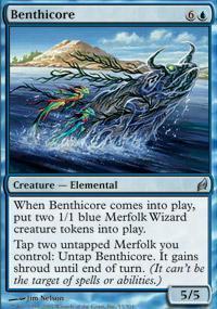 Benthicore Magic Card