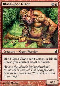 Blind-Spot Giant Magic Card