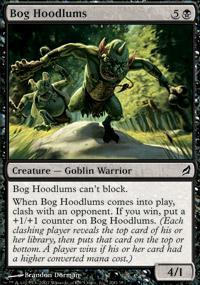 Bog Hoodlums Magic Card