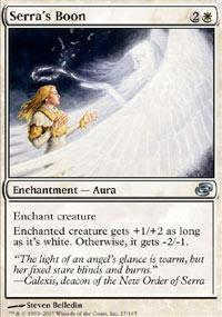 Serra's Boon Magic Card