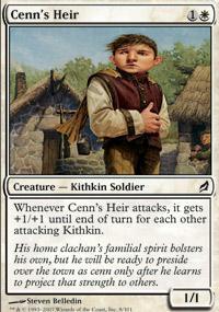 Cenn's Heir Magic Card