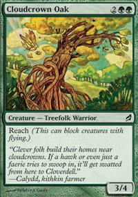 Cloudcrown Oak Magic Card