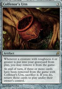 Colfenor's Urn Magic Card