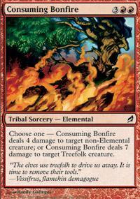 Consuming Bonfire Magic Card