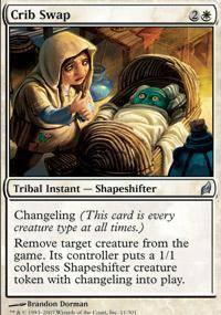 Crib Swap Magic Card
