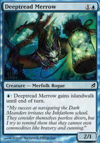 Deeptread Merrow Magic Card
