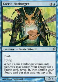 Faerie Harbinger Magic Card