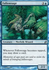 Fallowsage Magic Card