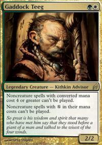 Gaddock Teeg Magic Card