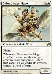 Galepowder Mage Magic Card