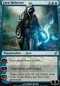 Jace Beleren Magic Card