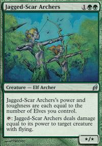 Jagged-Scar Archers Magic Card