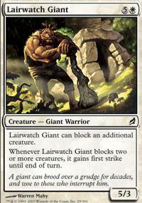 Lairwatch Giant Magic Card