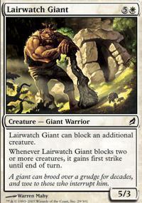 Lairwatch Giant Magic Card