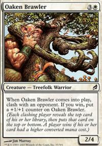 Oaken Brawler Magic Card