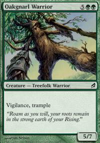 Oakgnarl Warrior Magic Card